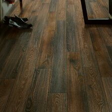 "Premier Classics Mountain 6.26"" x 54.33"" x 8mm Walnut Laminate in Brown"