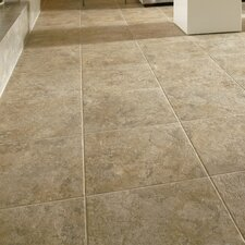 "Alterna Tuscan Path 16"" x 16"" x 4.06mm Luxury Vinyl Tile in Cameo Brown"