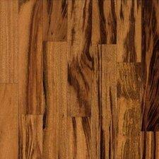 """Valenza 3-1/2"""" Engineered Tigerwood Hardwood Flooring in Natural"""