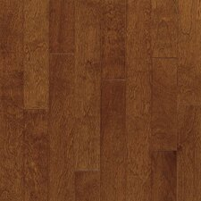 "Metro Classics 5"" Engineered Yellow Birch Hardwood Flooring in Mocha"