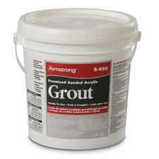 Premixed Sanded Acrylic Grout in Mushroom - 1 Gallon
