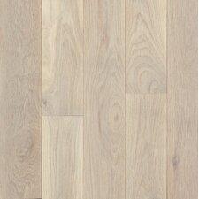 "Turlington Signature Series 5"" Engineered Northern White Oak Hardwood Flooring in Antiqued White"