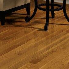 """Dundee 3-1/4"""" Solid Red & White Oak Hardwood Flooring in Gunstock"""