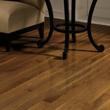 "Dundee 3-1/4"" Solid Red / White Oak Hardwood Flooring in Saddle"