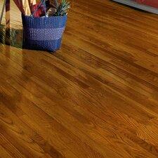 """Dundee 2-1/4"""" Solid Red / White Oak Hardwood Flooring in Gunstock"""