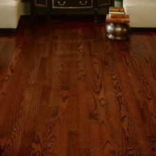 "Dundee 2-1/4"" Solid Red / White Oak Hardwood Flooring in Cherry"