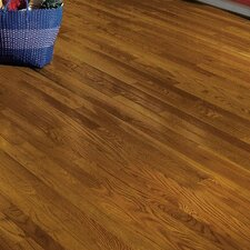 "Dundee 2-1/4"" Solid White Oak Hardwood Flooring in Fawn"