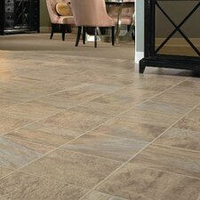 "GardenStone 12"" x 48"" x 8mm Tile Laminate in Caribbean Sand"