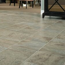 "GardenStone 12"" x 48"" x  8mm Tile Laminate in Silver Sage"
