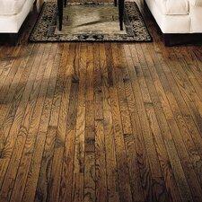 "Trumbull Strip 2-1/4"" Solid Oak Hardwood Flooring in Antique"