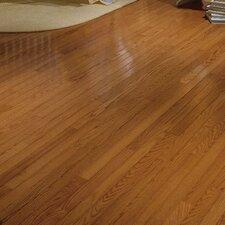 "Waltham Strip 2-1/4"" Solid Oak Hardwood Flooring in Brass"