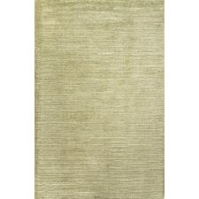 Basis Green Solid Area Rug