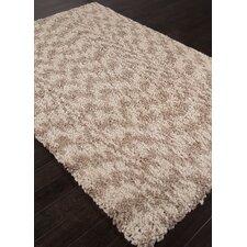 Castilla Ivory / Taupe Shag Area Rug