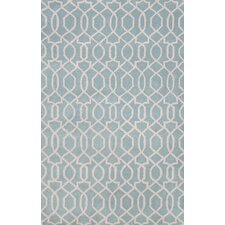City Blue / Ivory Area Rug