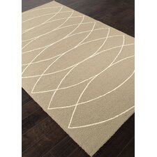 Grant Light Smoke Gray Geometric Indoor/Outdoor Area Rug