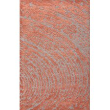Clayton Red / Gray Area Rug