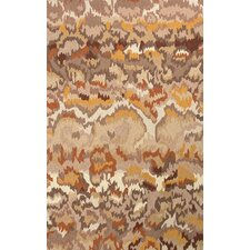 Explorer Taupe/Yellow Area Rug