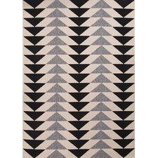 Patio Ivory & Black Indoor/Outdoor Area Rug