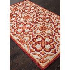 Catalina Red/Orange Moroccan Indoor/Outdoor Rug