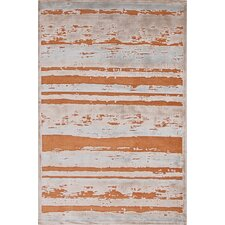 Fables Orange & Taupe Area Rug