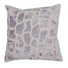 Charmed Animal Print Linen Throw Pillow