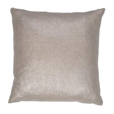 Shimmer Solid Cotton Throw Pillow
