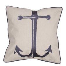 Coastal Retreat Cotton Throw Pillow