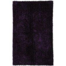 Flux Tulip Purple Shag Area Rug
