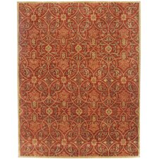 Poeme Calais Deep Ruby Area Rug