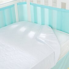 Air Mesh Waterproof Crib Mattress Pad
