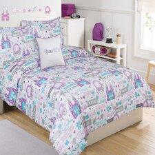Sparkle Princess 4 Piece Comforter Set
