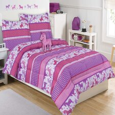 Unicorn Sly 4 Piece Comforter Set