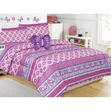 Emmal 4 Peice Comforter Set