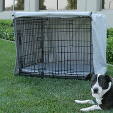 Dog Crate Cover and Pad Set for Midwest iCrate