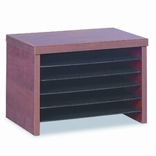 Valencia Series Under-Counter File Organizer Shelf, 16w x 10d x 11h, Cherry