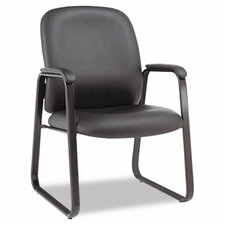 Genaro Series Mid-Back Leather Guest Chair