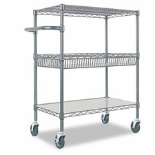 "40"" 3-Tier Utility Cart"