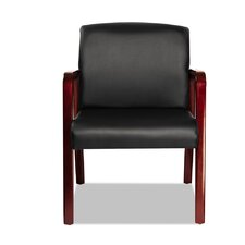 Reception Lounge Series Leather Guest Chair