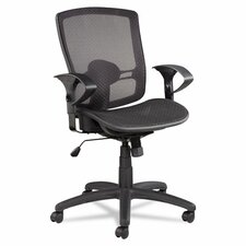 Etros Series Suspension Mid-Back Mesh Synchro Tilt Office Chair