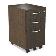 SedinaAG Series 3-Drawer Mobile File Pedestal