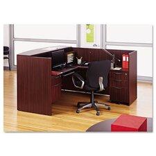 Valencia Series Reception Desk with Return