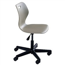 "Intellect Wave  21.5"" Adjustable Plastic Classroom Chair"