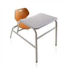 "Intellect Wave Plastic 32"" Combo Desk"