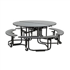 Uniframe 82'' Round Cafeteria Table
