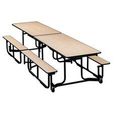 Uniframe 60'' x 139.5''  Rectangular Cafeteria Table