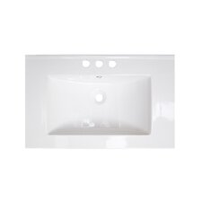 "30"" Ceramic Bathroom Vanity Top"