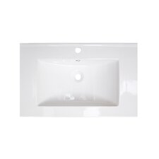 "24"" Ceramic Bathroom Vanity Top"