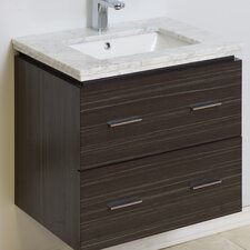 "23"" Modern Wall Mount Vanity Base"