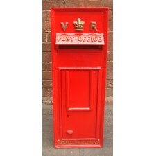 Replica Royal Post Mailbox with Lock