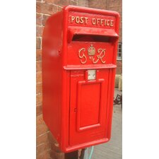 Verschließbarer Briefkasten Replica Royal Post Box